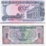Beautiful banknote Vietnam Pick number 25 - 50 Dong
