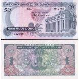 Bello banconote Vietnam Pick numero 25 - 50 Dong