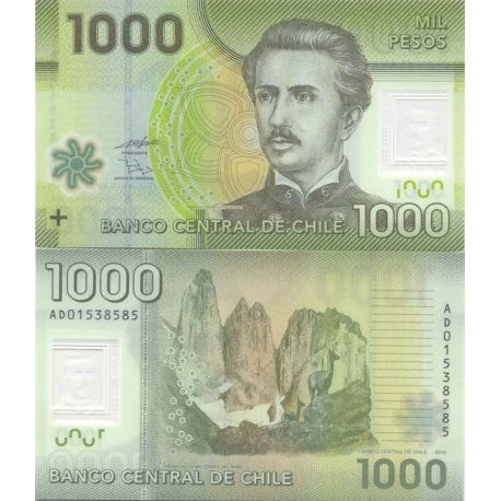 Billet de collection Chili Pk N° 9999 - 1000 Pesos