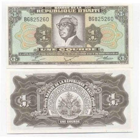 Billets de collection Billet de banque Haiti Pk N° 239 - 1 Gourde Billets d'Haiti 9,00 €