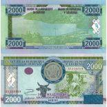 Banknote Burundi Pick number 47 - 2000 FRANC 2008