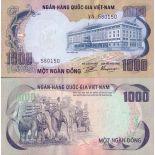 Colección de billetes Vietnam Pick número 34 - 1000 Dong