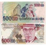 Banconote Brasile Pick numero 236 - 50000 Cruzeiro 1990
