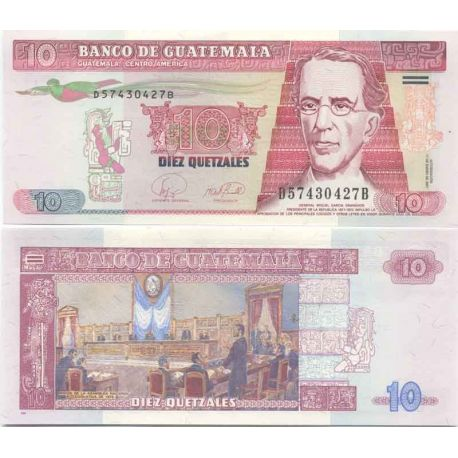 Billets de collection Billet de collection Guatemala Pk N° 112 - 20 Quetzal Billets du Guatemala 12,00 €