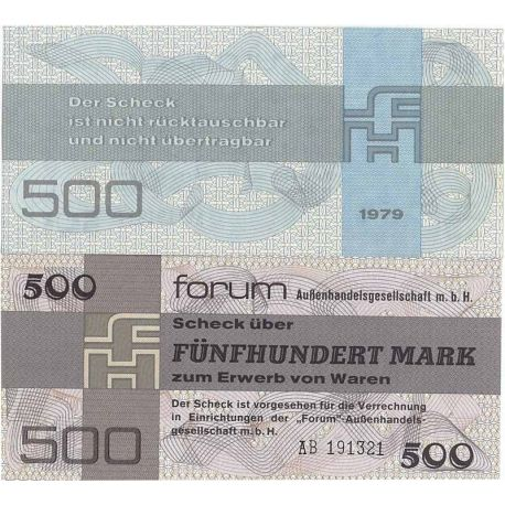 Billet de collection Allemagne Est Pk N° 7 de 500 Mark