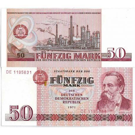 Allemagne Est - Pk N° 30 - Billet de 50 Mark