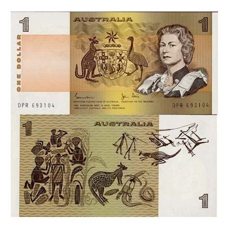 Billets de collection Australie - Pk N° 42 - Billet de banque de 1 Dollar Billets d'Australie 75,00 €