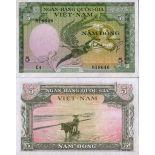 Collezione di banconote Vietnam Pick numero 2 - 5 Dong