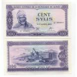 Billets collection Guinee Française Pk N° 19 - 100 Sylis