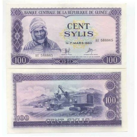 Guinee Française - Pk N° 19 - Billet de 100 Sylis