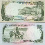 Billets collection Vietnam Sud Pk N° 31 - 100 Dong