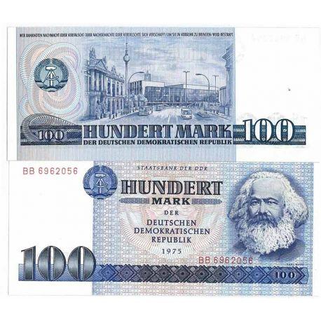 Billets banque Allemagne Est Pk N° 31 - 100 Mark