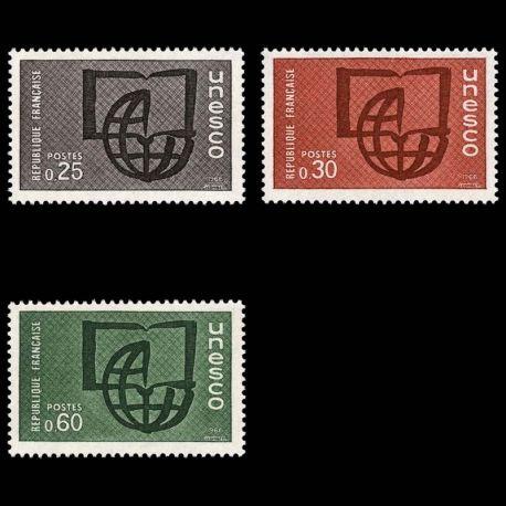 Timbres de service France Série N° 36/38- Neuf(s) sans charniEre
