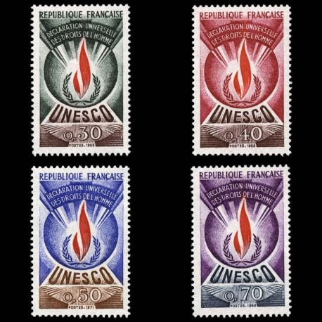 France Service N° 39/42- Neuf(s) sans charniEre