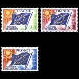 Reihe von Dienstmarken N ° 46 / 48- Postfrisch