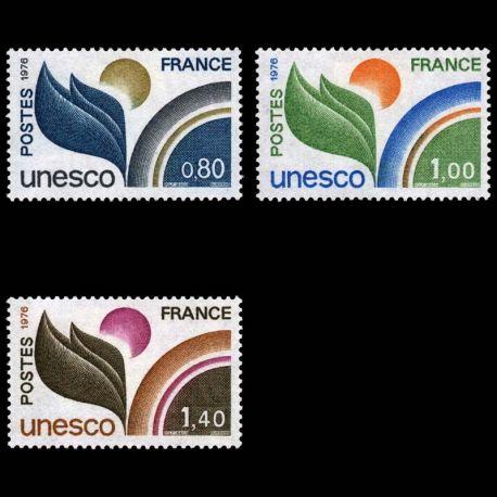 Timbres de service France Série N° 50/52- Neuf(s) sans charniEre