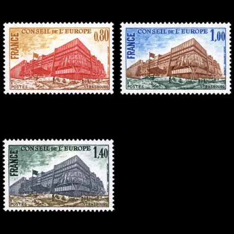 France Service N° 53/55- Neuf(s) sans charniEre