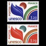 Reihe von Dienstmarken N ° 56 / 57- Postfrisch