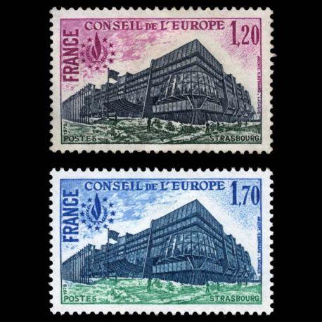 Timbres de service France Série N° 58/59- Neuf(s) sans charniEre