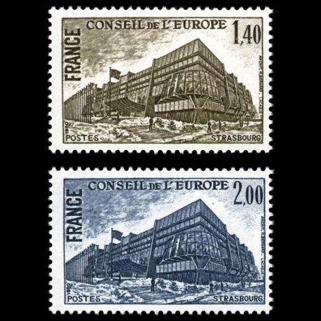 Timbres de service France Série N° 63/64- Neuf(s) sans charniEre