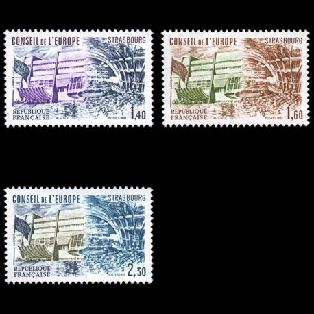 France Service N° 65/67- Neuf(s) sans charniEre