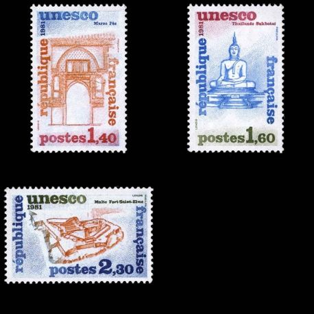 France Service N° 68/70- Neuf(s) sans charniEre