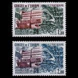 Timbres de service France Série N° 73/74- Neuf(s) sans charniEre