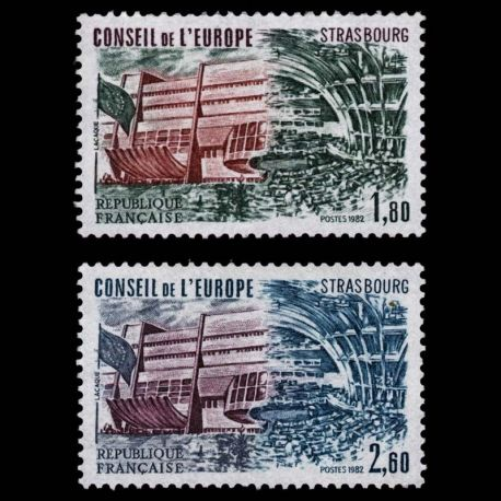 France Service N° 73/74- Neuf(s) sans charniEre