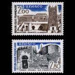 Serie di francobolli di servizio N ° 75 / 76- Nuevo non linguellato