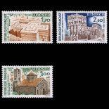 Serie di francobolli di servizio N ° 79 / 81- Nuevo non linguellato