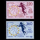 Timbres de service France Série N° 100/01- Neuf(s) sans charniEre