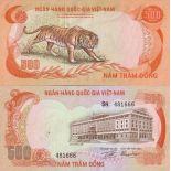 Schone Banknote Vietnam Pick Nummer 33 - 500 Dong