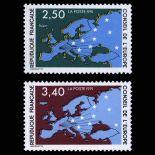 Serie di francobolli di servizio N ° 106 / 07- Nuevo non linguellato