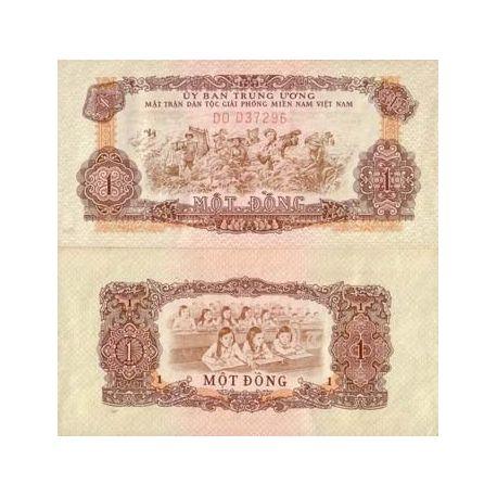 VIETNAM SUD - Pk N° 4 - Billet de 1 Dong