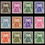 Timbres taxe France Série N° 78/89 - Neuf(s) sans charniEre