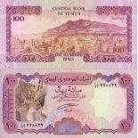 Billets collection Yemen Pk N° 28 - 100 Rials