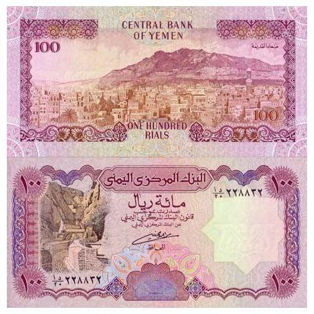 Billets de collection Billets collection Yemen Pk N° 28 - 100 Rials Billets du Yemen 5,00 €