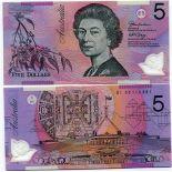 AUSTRALIE - Pk N° 57 - Collection billet de 5 Dollars