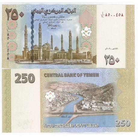 Billets de collection Billet de collection Yemen Pk N° 35 - 250 Rials Billets du Yemen 7,00 €