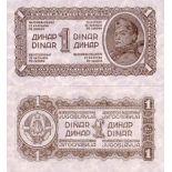 Billets collection Yougoslavie Pk N° 48 - 1 Dinara