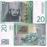 Billets de banque Yougoslavie Pk N° 154 - 20 Dinara