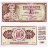 Billets collection Yougoslavie Pk N° 82 - 10 Dinara