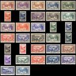 Andorra Briefmarken N° 61 bis N° 92 Postfrisch