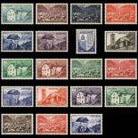 Andorra Briefmarken N° 119 N° 137 Postfrisch