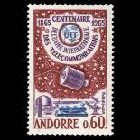 Francobollo d'Andorra N° 173 nove senza cerniera