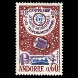 Timbre Andorre N° 173 neuf sans charnière