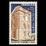 Francobollo d'Andorra N° 174 nove senza cerniera