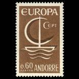 Timbre Andorre N° 178 neuf sans charnière