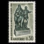 Francobollo d'Andorra N° 181 nove senza cerniera
