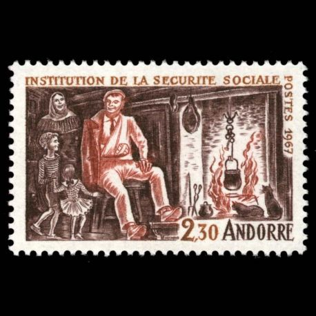 Andorre - N° 183 - Neuf sans charnière